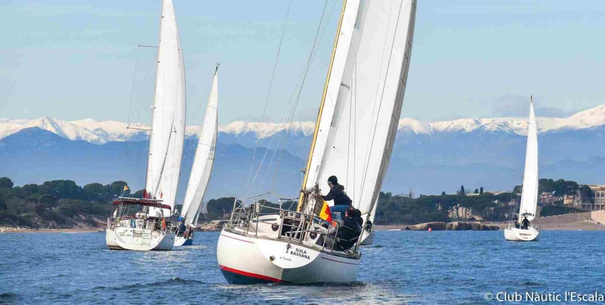 Trobada de Velers 2019 - Club Nàutic l'Escala