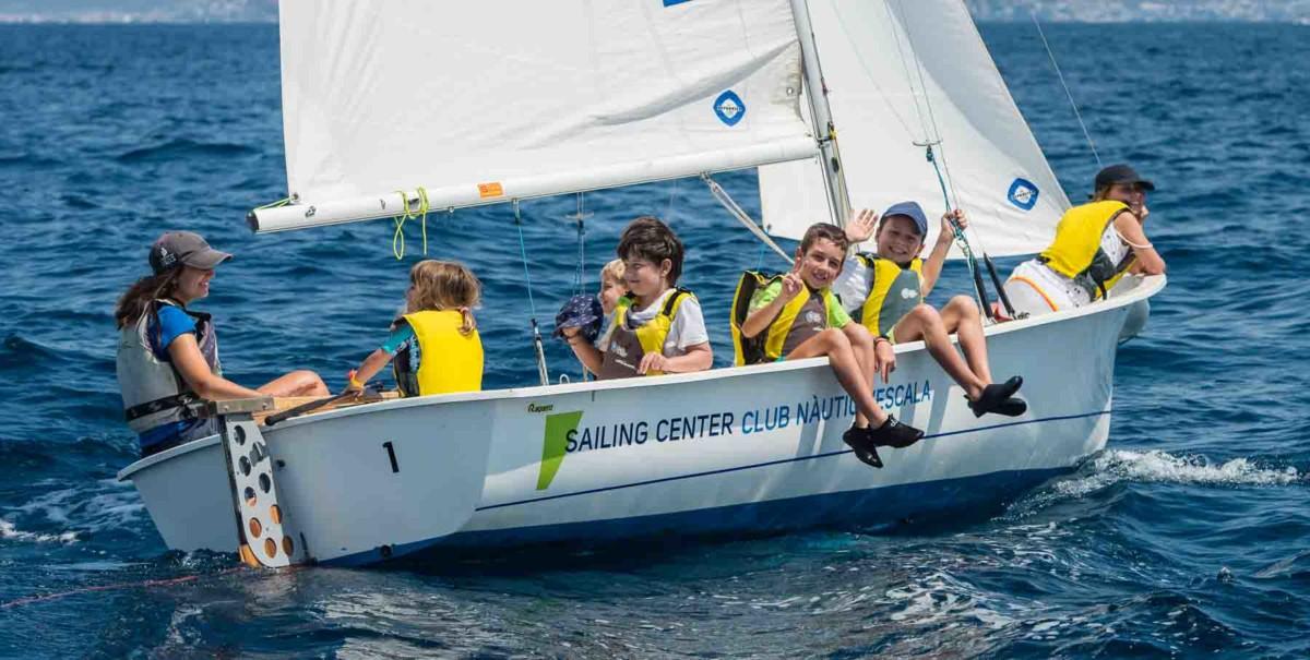 Curs de vela lleugera - Club Nàutic l'Escala
