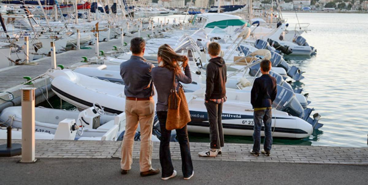 alquiler embarcaciones Costa Brava