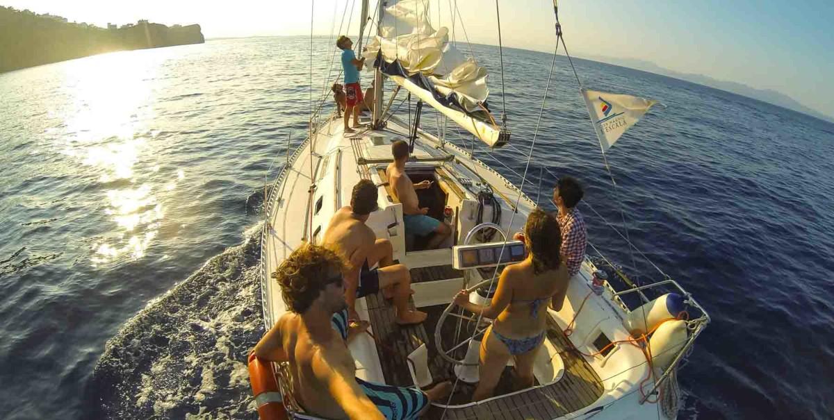 Club Nautic l'Escala-Ruta Guiada-creuer-Costa Brava