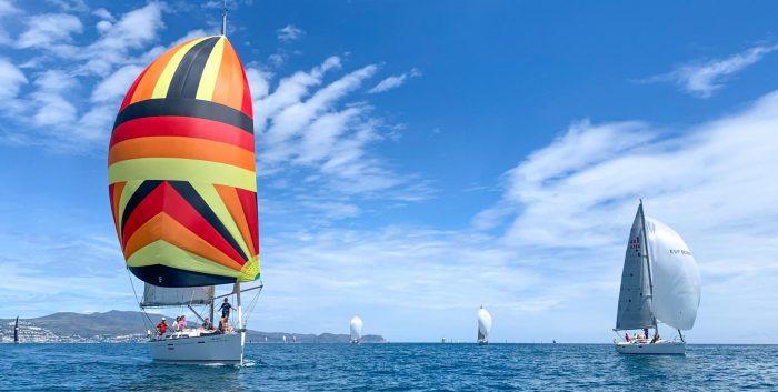 2021-Club Nautic lEscala_Creuer-trobada de velers maig 2021