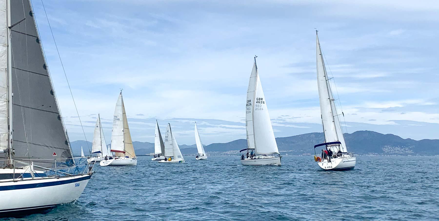 2021-Club Nautic lEscala_Creuer-trobada velers maig 2021
