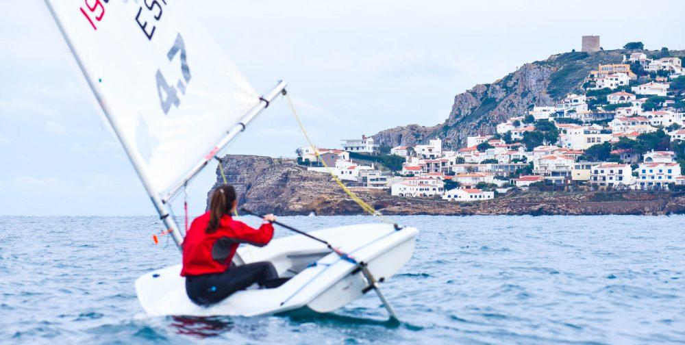 Maria Peñalba Ambaixadors del Club Nàutic l'Escala