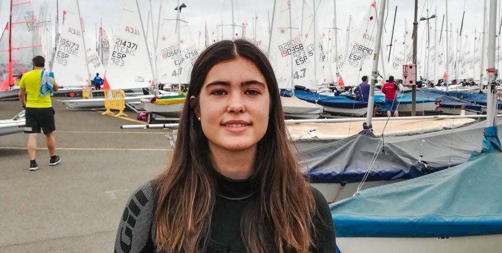 Maria Peñalba, ambaixadora ILCA 4 del Club, a Gran Canaria