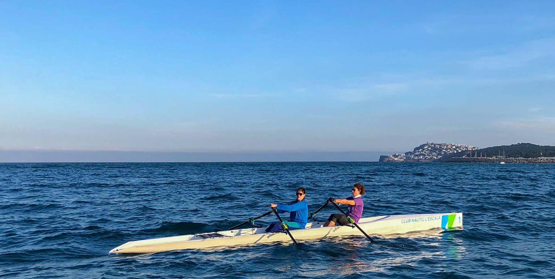 Club Nàutic l'Escala-Cursos de rem de mar