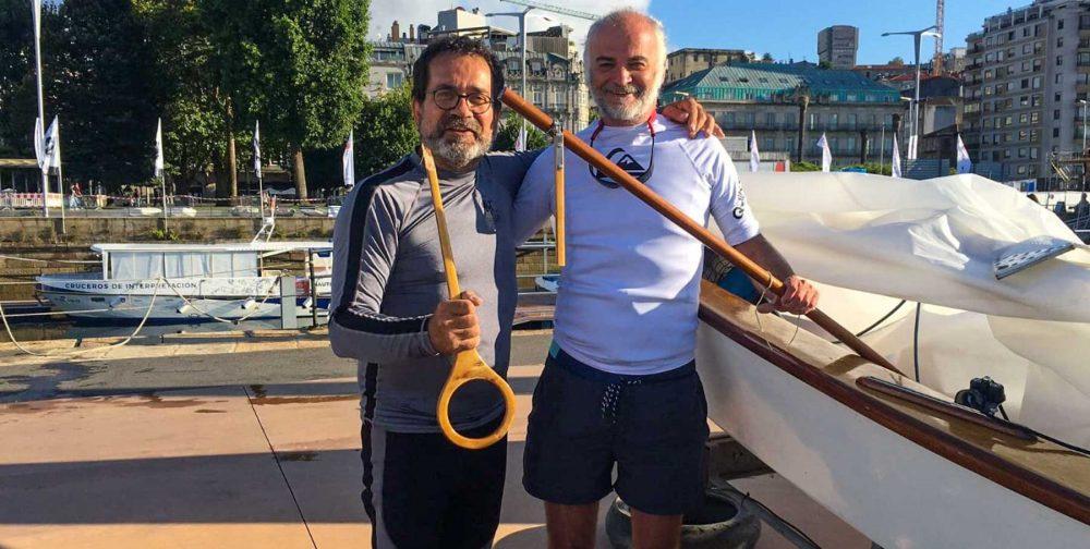 Ambaixadors del Club: Joan Fernández participa a la Regata Clásicos a Vigo