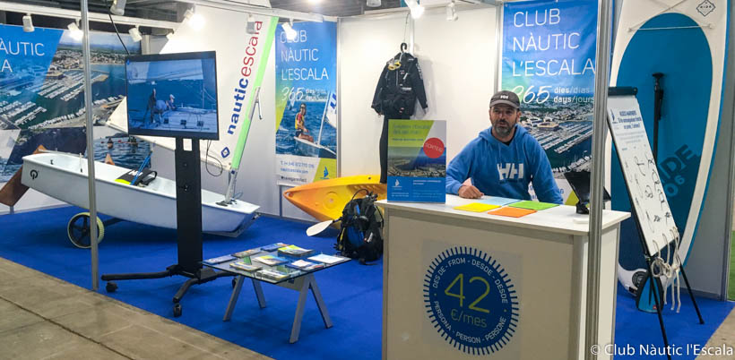 salons nautics 2021-Club Nautic lEscala-Fira de Mostres de Girona