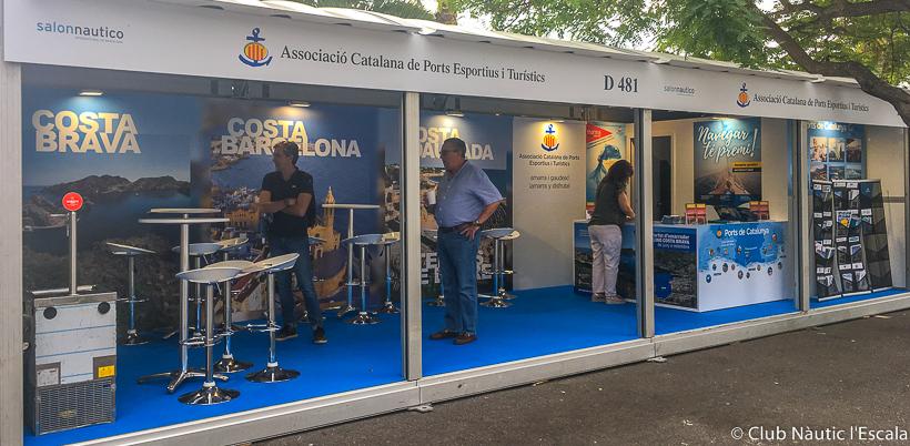 salons nautics 2021-Club Nautic lEscala-Salo Nautic de Barcelona