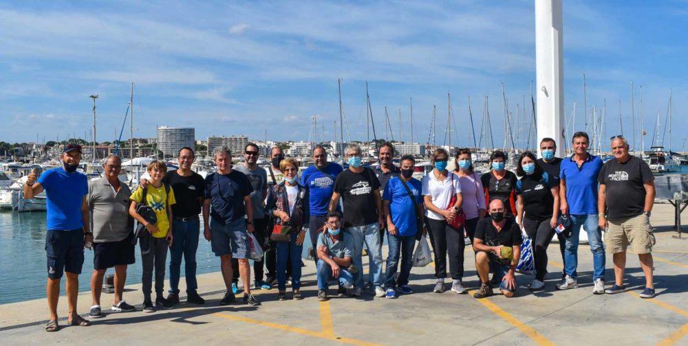 club nautic lescala trobada de pesca octubre 2021