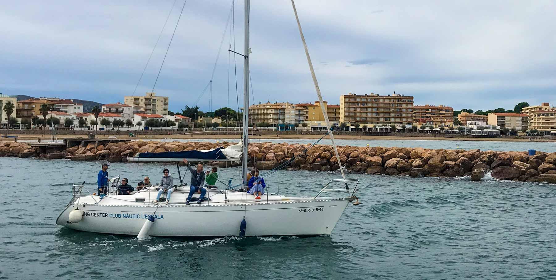 visites internacionals al club nautic lescala 2021