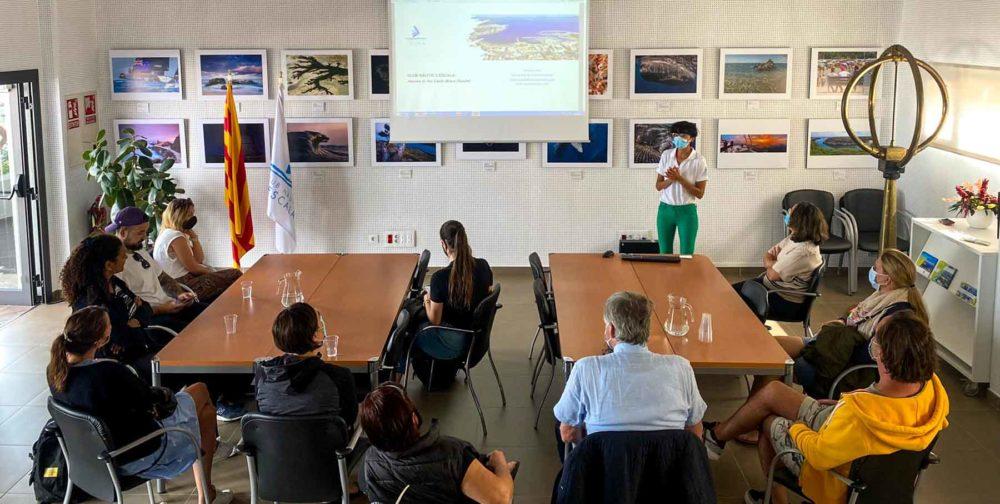 visites internacionals club nautic lescala 2021